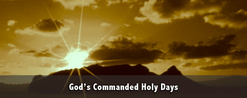 God's Commanded Holy Days