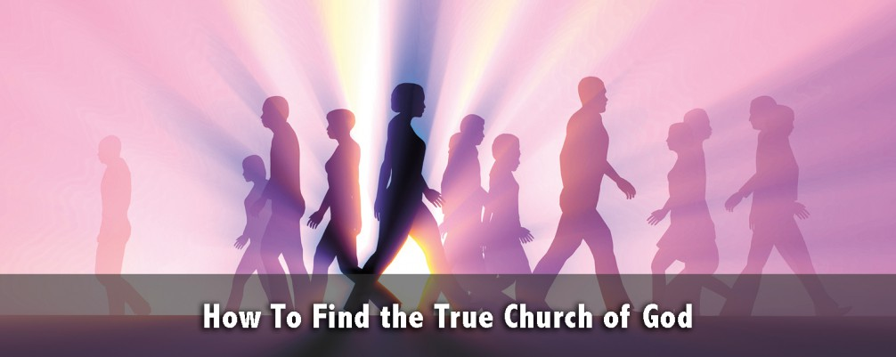 How to Find the True Church of God